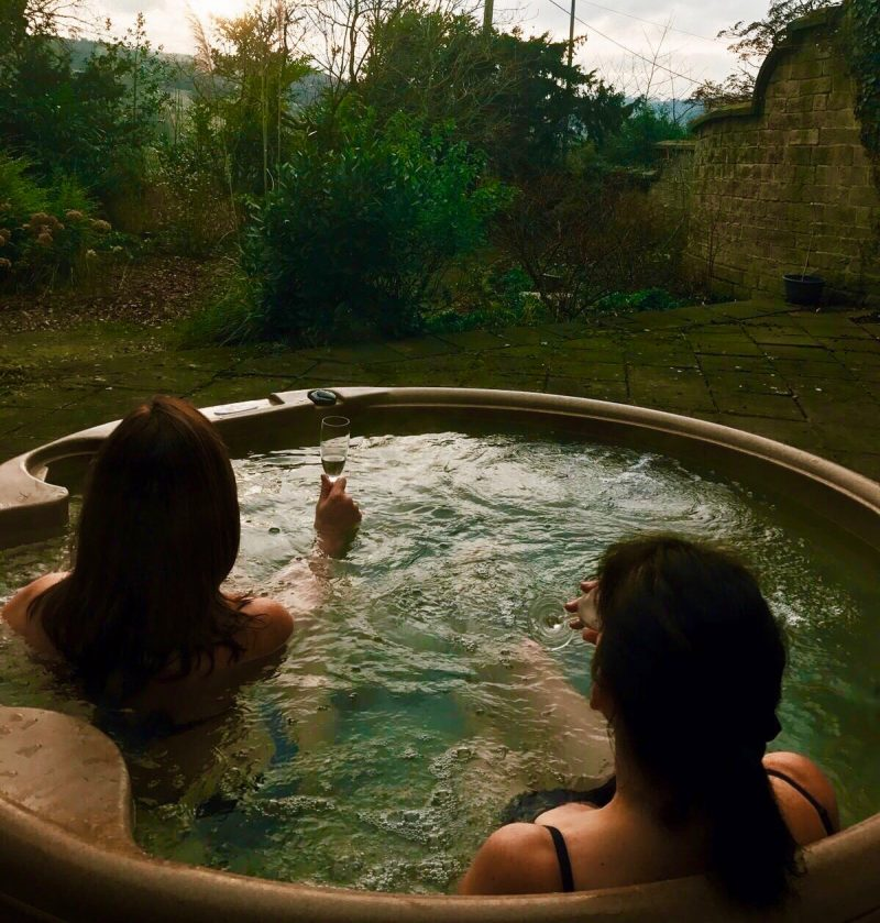 hot tub hire Derbyshire